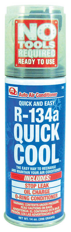 Quest  R134a  Air Conditioner Refrigerant  14 oz.