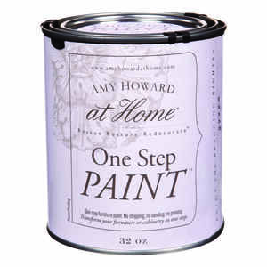 Amy Howard at Home  Flat Chalky Finish  Robins Egg Blue  One Step Paint  32 oz.