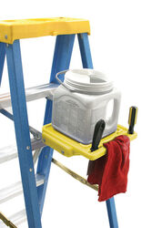 Werner  Polyethylene  Yellow  Pail Shelf  1 pk