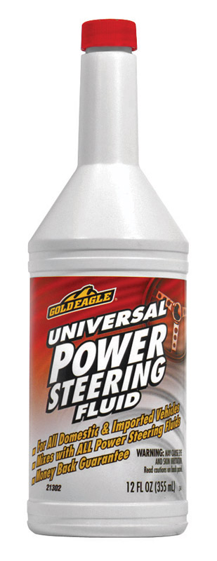 Gold Eagle Power Steering Fluid 12 oz. For All Domestic and Imported Vehicles