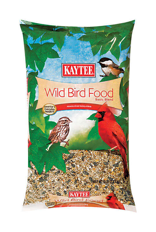 Kaytee  Assorted Species  Wild Bird Food  Millet and Milo  5 lb.