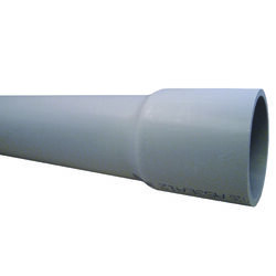 Cantex  3 in. Dia. x 10 ft. L PVC  Electrical Conduit  For Rigid
