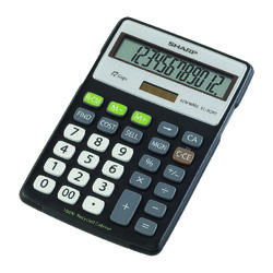 Sharp  12 digit Calculator  Black