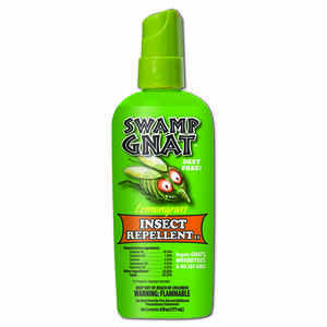 Swamp Gnat  Lemongrass  Organic Insect Repellent  Liquid  For Gnats/Mosquitoes 6 oz.
