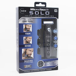 MicroTouch Solo Black Personal Trimmer 1 pk