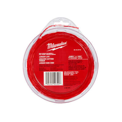 Milwaukee  Professional Grade  .080 in. Dia. x 150 ft. L Trimmer Line