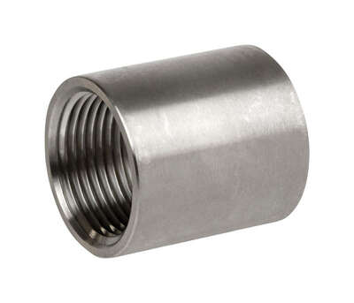 Smith-Cooper 1-1/4 in. FPT x 1-1/4 in. Dia. FPT Stainless Steel Coupling