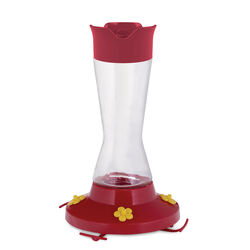 Perky-Pet  Hummingbird  16 oz. Glass  Nectar Feeder  4 ports