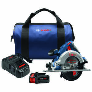 Bosch  6-1/2 in. 18 volt Cordless  Circular Saw  Kit 3900 rpm