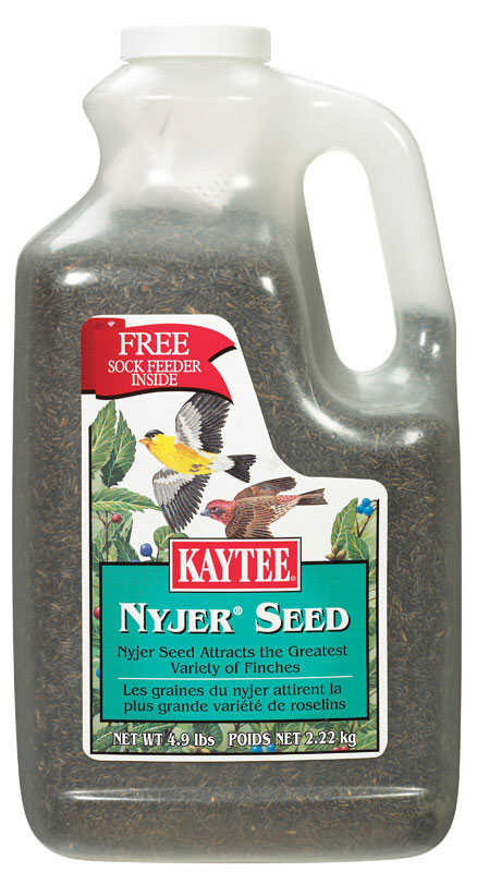 Kaytee  Finch  Wild Bird Food  Nyjer Seed  4.9 lb.