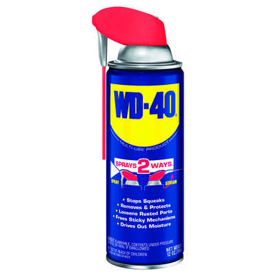 WD-40  Smart Straw  Lubricant Spray  12 oz.