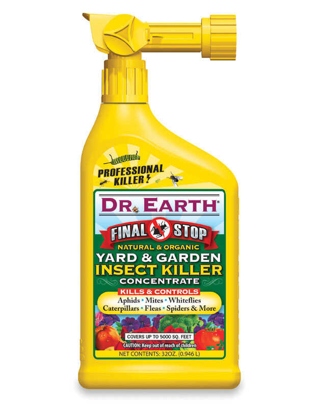 Dr. Earth  Final Stop Yard & Garden  Organic Insect Killer  32 oz.