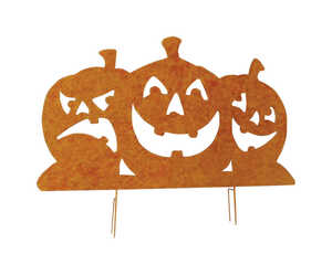 DHI  Pumpkin Silhouette  Halloween Decoration  31-1/2 in. H x 42-1/2 in. W x 42-1/2 in. L 1 pc.