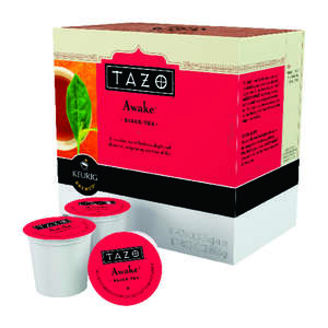 Tazo  Keurig  Awake Black Tea  Tea K-Cups  16 pk