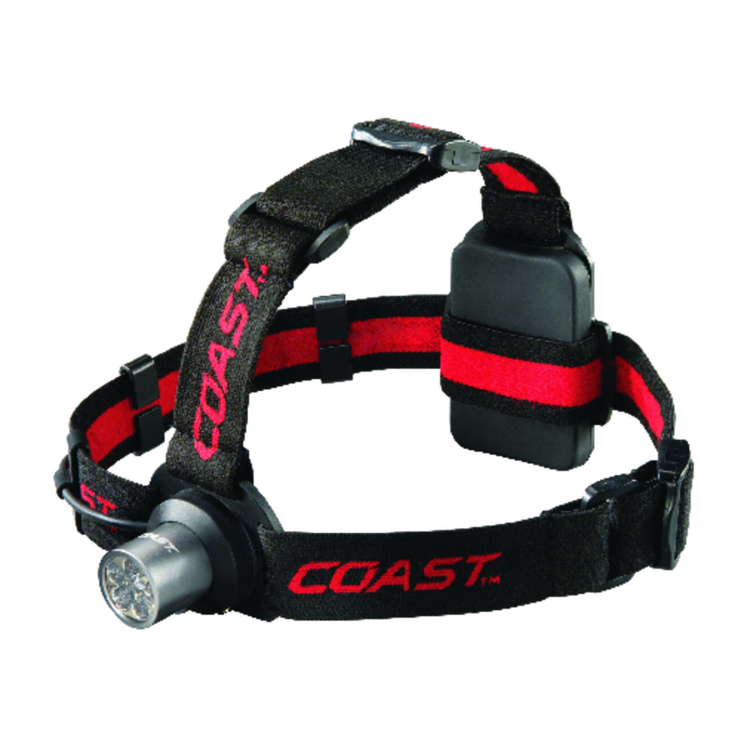 Coast  HL5  175 lumens Black  LED  Head Lamp  AAA Battery