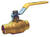 B&K  ProLine  1 in. Brass  Compression  Ball Valve  Full Port