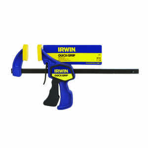 Irwin  Quick-Grip  6 in.  Heat Treated Steel  Bar Clamp