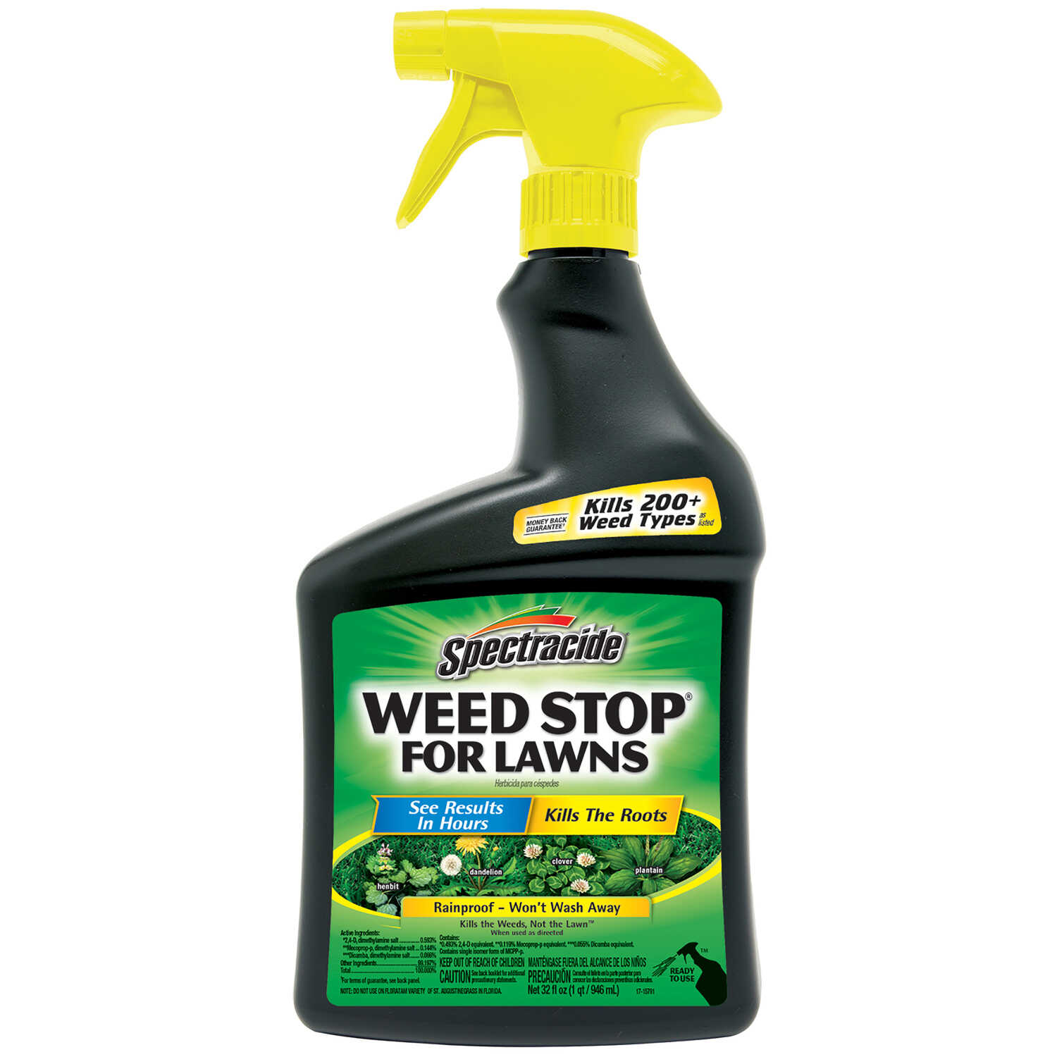 Spectracide  Weed Stop  RTU Liquid  Weed and Grass Killer  32