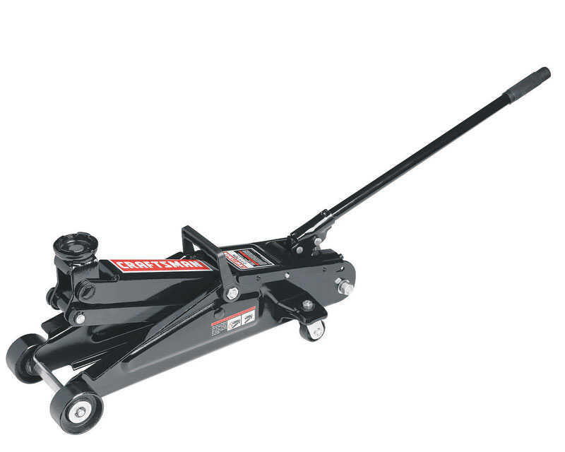 Craftsman  Manual  Automotive Floor Jack  2-1/4 ton