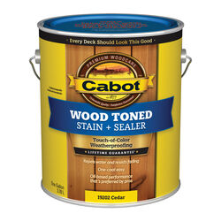 Cabot Transparent Cedar Oil-Based Penetrating Oil Deck and Siding Stain 1 gal.