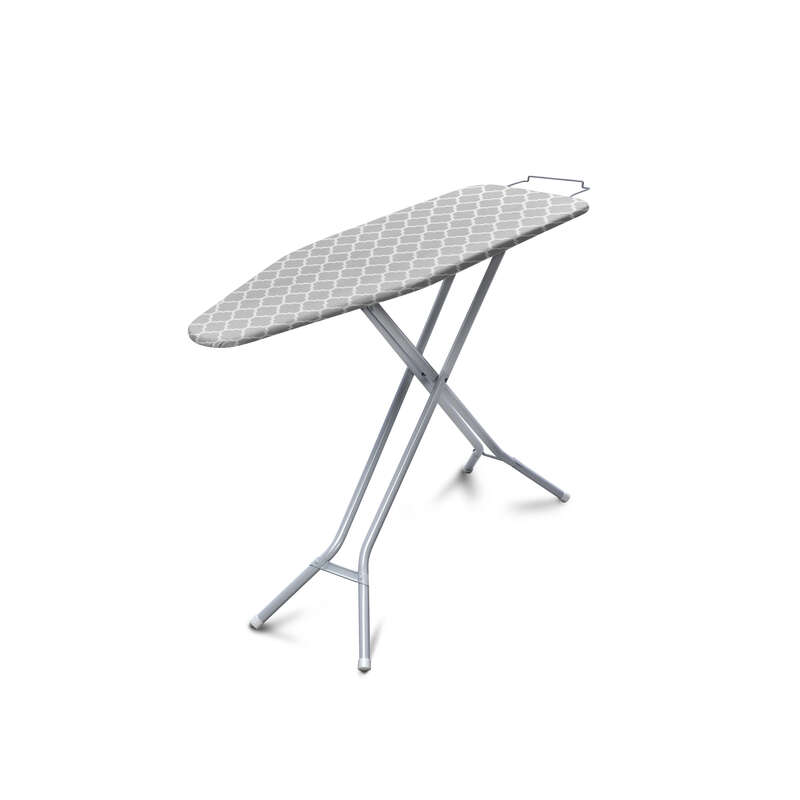 Homz  36 in. H Steel  Ironing Board with Iron Rest  Pad Included