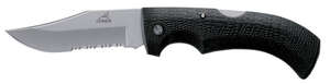 Gerber  Gator  Black  High Carbon Stainless Steel  8.58 in. Knife