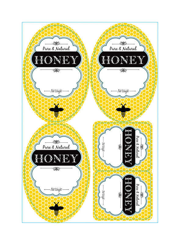 Little Giant  Honey Labels