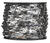 Campbell Chain  No. 2  Chrome Plated  Silver  Steel  Hobby/Craft Sash Chain  13/64 in. Dia. 0.58 in.