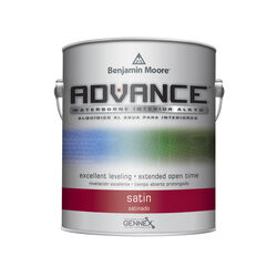 Benjamin Moore  Advance  Satin  Base 4  Paint  Interior  1 gal.