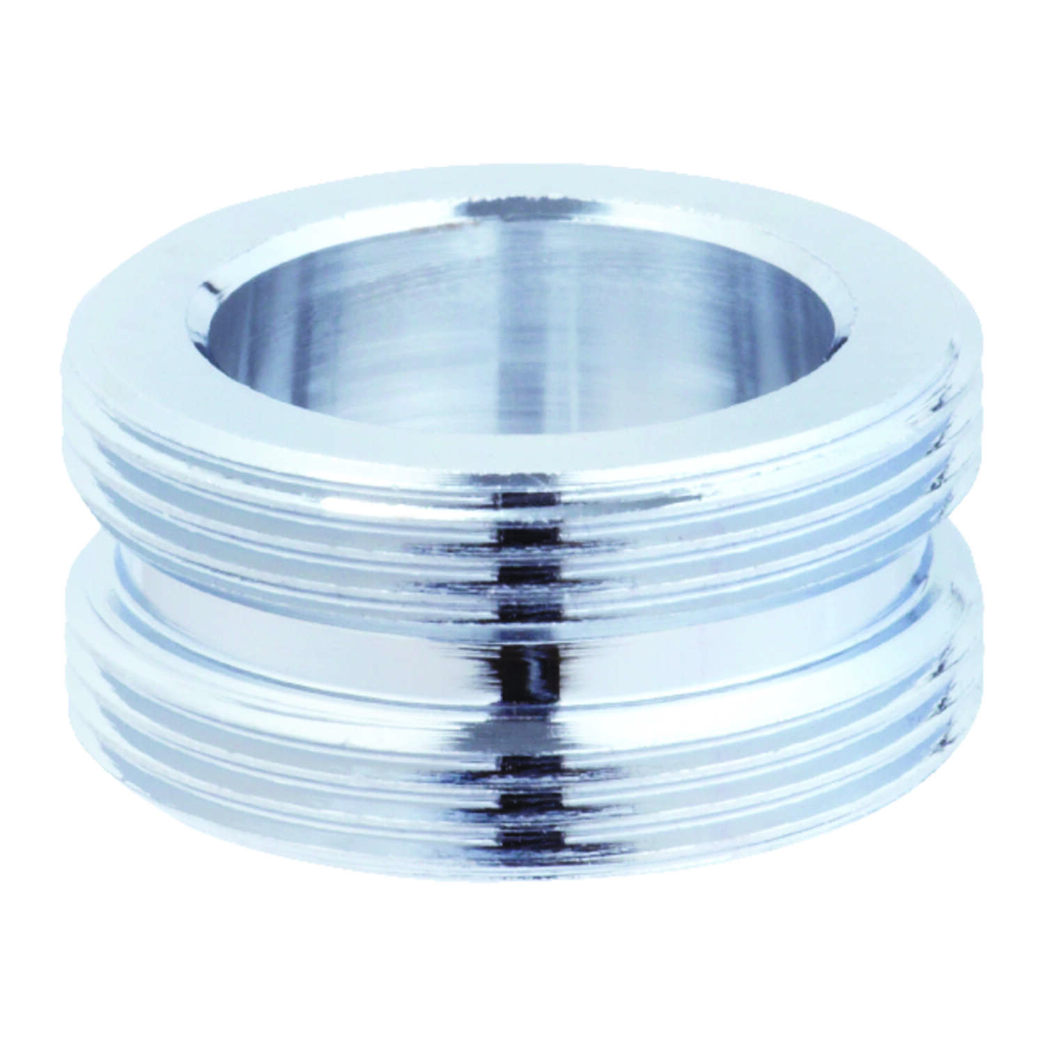 Ace  Aerator Adapter  55/64 in.  x 55/64 in.  Chrome