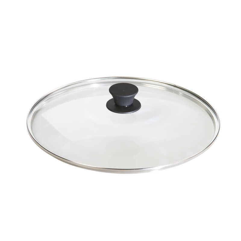 Lodge  Glass  Lid  12 in. Clear