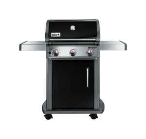 Weber  Spirit E-310  Liquid Propane  Freestanding  Grill  Black  3 burners
