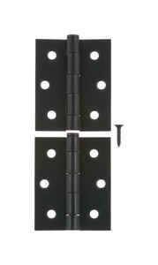 Ace  3 in. L Black  Screen/Storm Door Hinge  Steel  2 pk