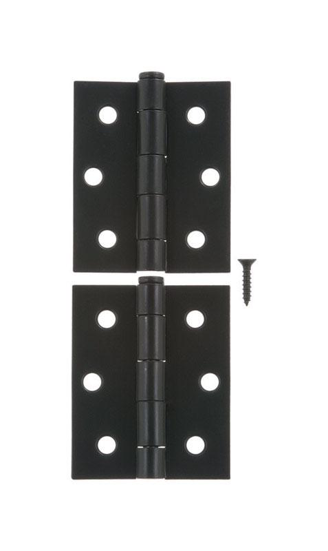 L Black Screen/Storm Door Hinge Steel ...