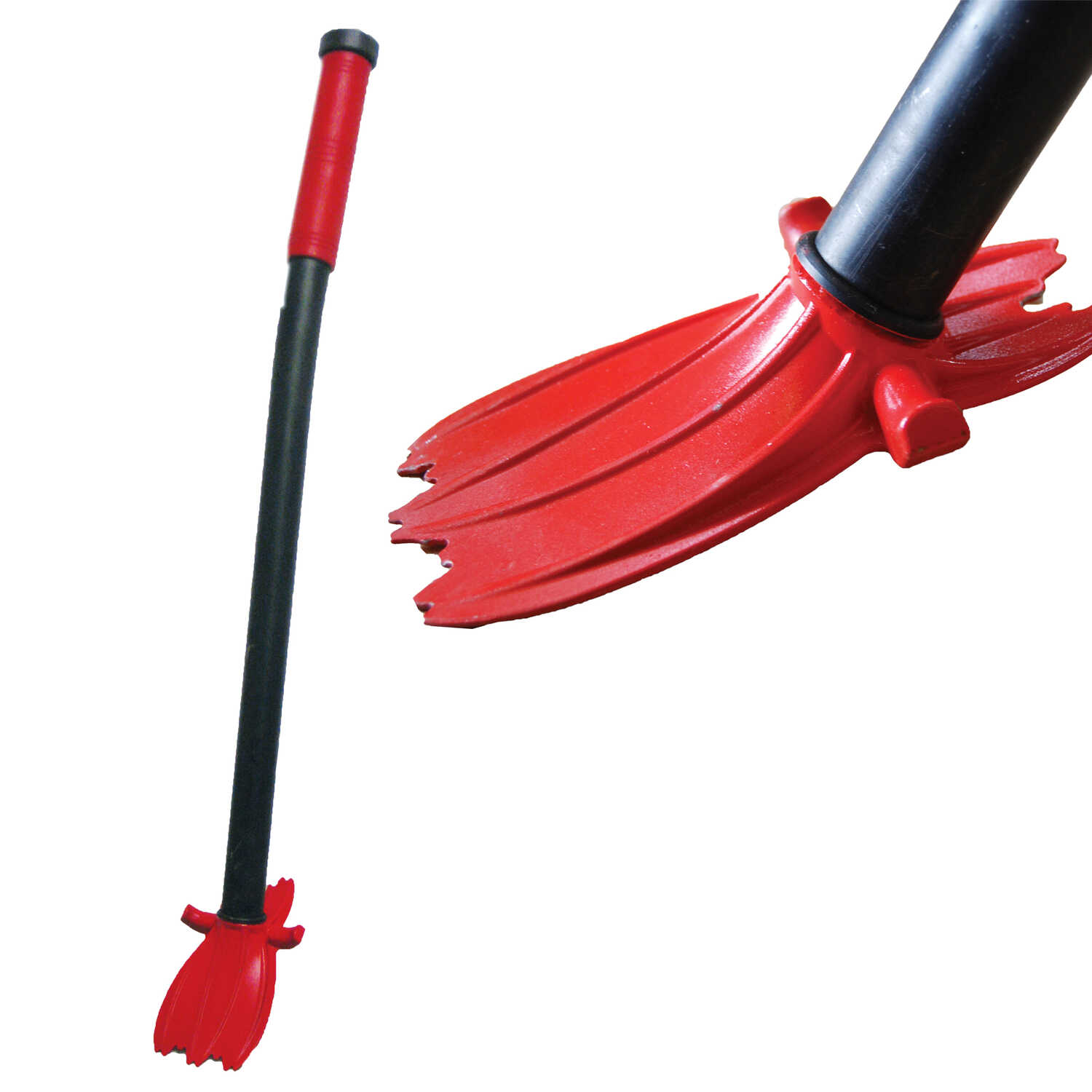 Roofers World  Little Red Ripper  Carbon Steel  3 in. W x 32 in. L Shingle Remover