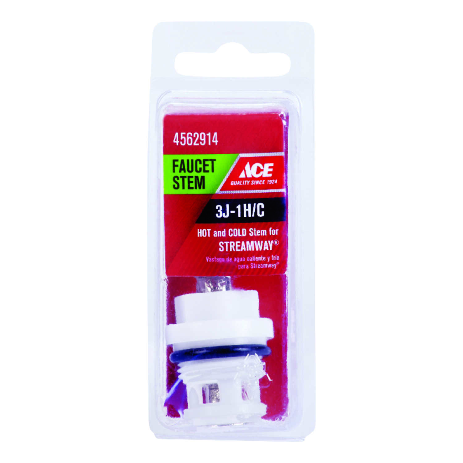 Ace  Hot and Cold  3J-1H/C  Faucet Stem  For Streamway