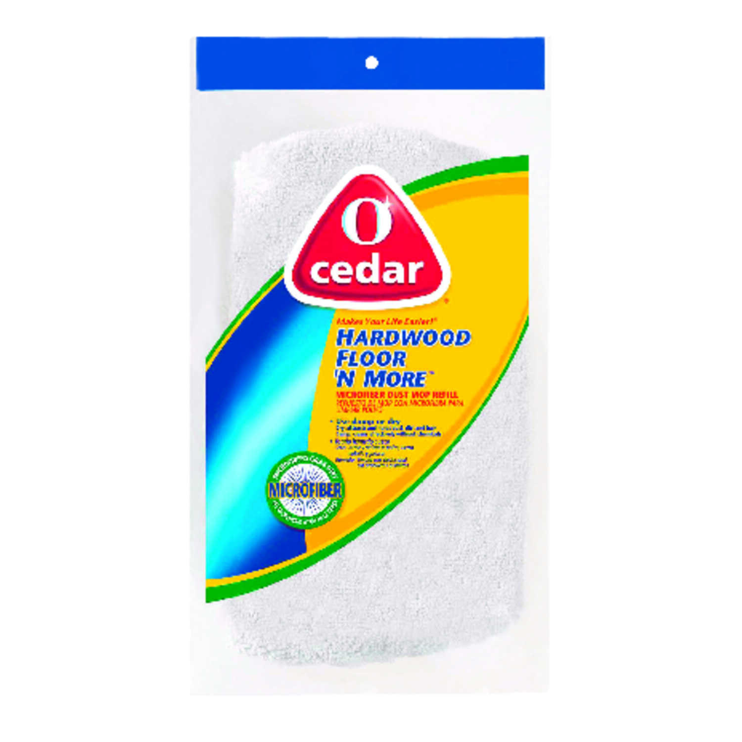 O-Cedar  Hardwood Floor 'N More  15.5 in. L Terry Cloth  Mop Refill  1 pk