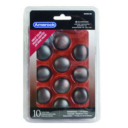 Amerock  Allison  Round  Furniture Knob  1-1/4 in. Dia. 1-1/8 in. Oil Rubbed Bronze  10 pk