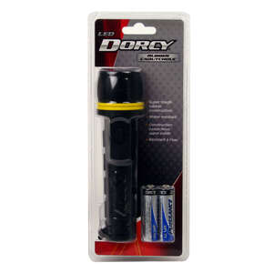 Dorcy  Black  LED  Flashlight  AA