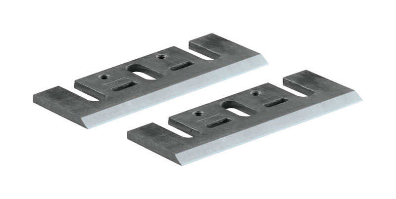 Makita  3-1/4 in. L Steel  Planer Blade  2 pk
