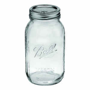 Ball  Regular Mouth  Canning Jar  1 qt. 12 pk