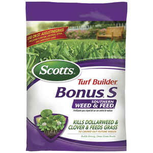 Scotts  Turf Builder Bonus S  29-0-10  Weed and Feed  For Southern 36.4 lb. 10000 sq. ft.
