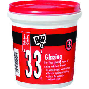 Dap  White  Glazing Compound  1 pt.