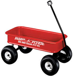 Radio Flyer ATW Wagon 36 in. x 17-1/2 in. x 4-1/2 in. Ages Over 1-1/2 Years Steel Construction