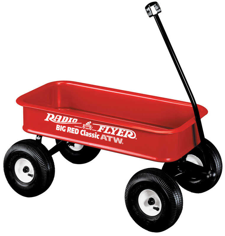 Radio Flyer  Toy Wagon  Steel  Red