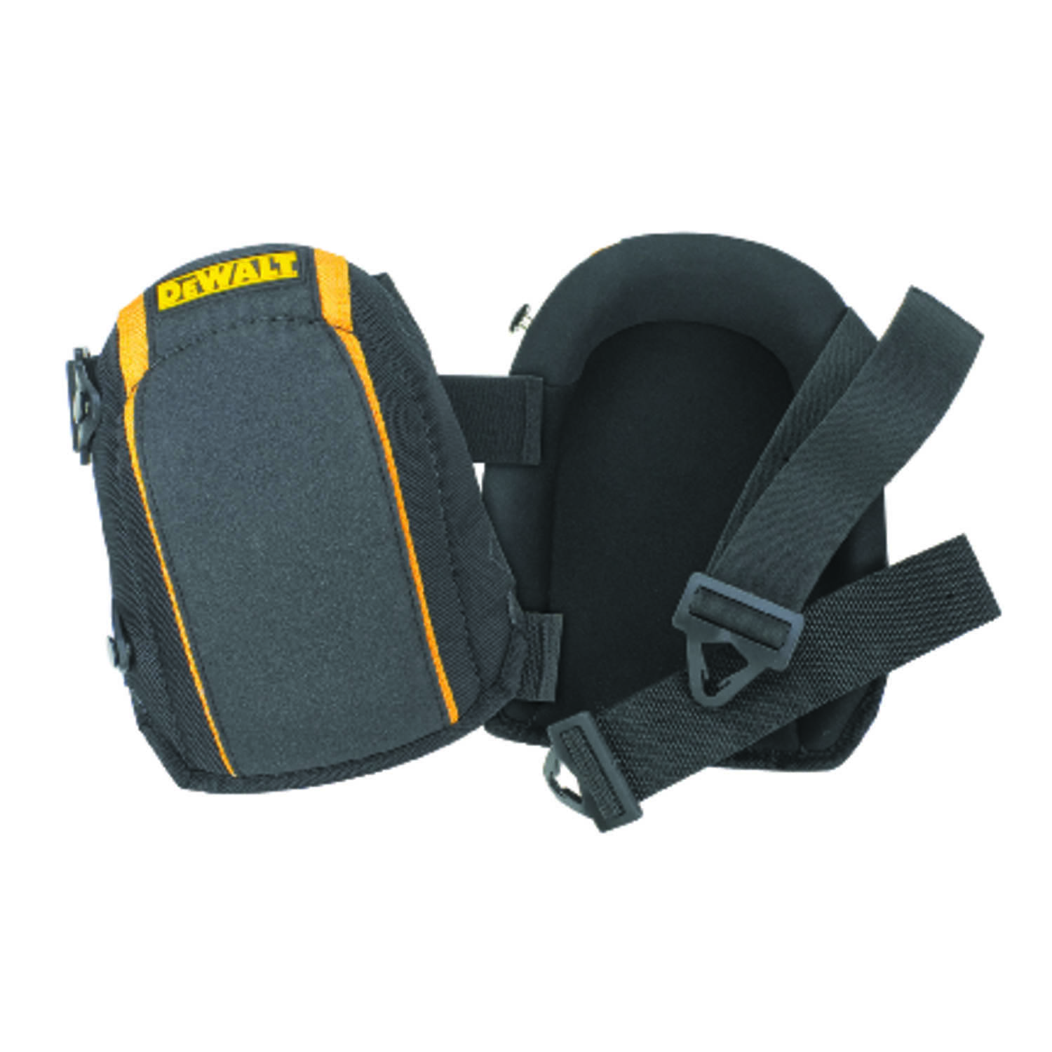 DEWALT By CLC  7 in. L x 4.25 in. W Knee Pads  Black  Non-Marring Foam