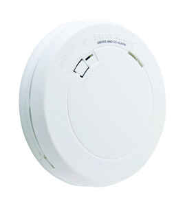 First Alert  Battery  Electrochemical/Photoelectric  Smoke and Carbon Monoxide Alarm