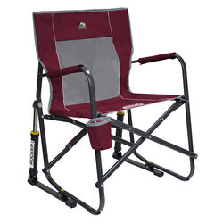 GCI Outdoor Cinnamon Freestyle Rocker Folding Chair