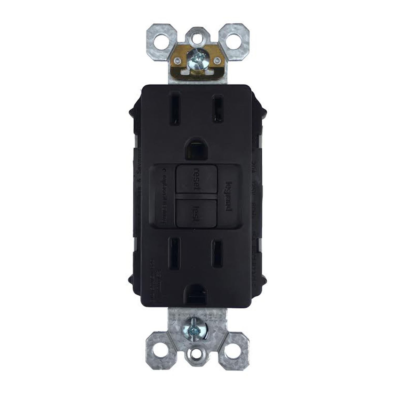 Pass & Seymour 15 amps 125 volt Brown GFCI Outlet 5-15R 1 - Ace Hardware