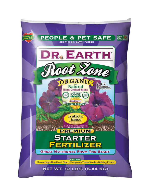 Dr. Earth  Root Zone  Organic Starter Fertilizer  12 lb.